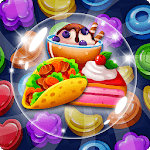 Food POP : puzzle World for pc icon