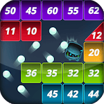 Brick puzzle master : Ball Vader2 icon