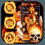 Evil Skull Fire Theme icon