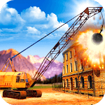 Excavator Demolition Simulator Wrecking Ball icon