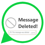 Deleted Whats Message icon