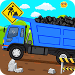 Kids Road Builder - Kids Construction Games icon