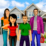 Babysitter Mom Family Nanny Game icon