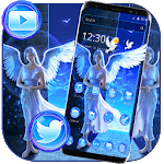 Blue Silver Fairy Girl Theme icon
