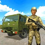 Offroad Army Truck Driving Game icon