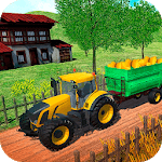 Farming Tractor Real Harvest Simulator icon