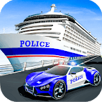 US Police Muscle Car Cargo Plane Flight Simulator icon