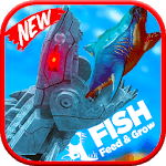 feed and grow -Mecha fish icon