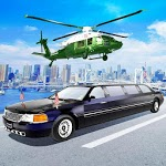 US President Helicopter, Limo Car Driving Games icon