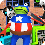 3D Fighting Frog Game Amazing Battle icon