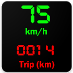 Kmh Counter (Speedometer) icon