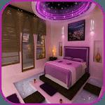 Bedroom decor icon