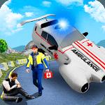 Flying Ambulance Emergency Rescue icon