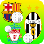 Football Logo Club Color By Number - Pixel Art icon