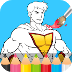 Superhero Coloring Pages icon