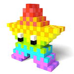 Color by Number 3D - Voxel Pixel Art Coloring Book icon