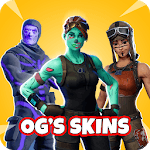 Battle Royale OG FREE Skins FBR 2019 icon