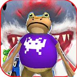 Frog Battle amazing vs shark  :simulation APK icon