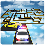 99% Impossible Tracks Police Car Chase: Maze Derby icon