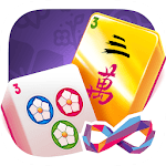 Gold Mahjong FRVR - The Shanghai Solitaire Puzzle APK icon