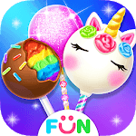 Unicorn Cake Pop Maker–Baking Games icon
