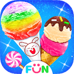 Candy Ice Cream Shop - Helado Ice Cream Game icon