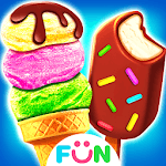 Ice Cream& Ice Popsicle Mania - Ice Dessert Maker APK icon