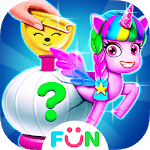 Unicorn Squishy Maker- Unicorn Dressup Salon icon