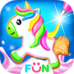 Unicorn Cookie Maker – Baking Games icon