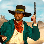 Real Cowboy Gun Shooting Training Game icon