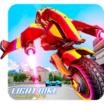 Light Bike Flying Stunts icon