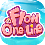 Flow - One Line Puzzle Game APK icon