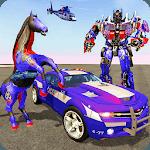 Multi Robot Transforming : Wild Horse Police Car icon
