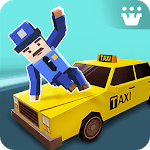 Car Driving in Crazy Town icon