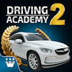 Driving Academy 2: Drive&Park Cars Test Simulator icon