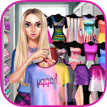 Rainbow Girls Dress Up icon