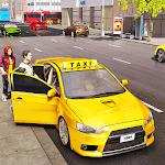 City Taxi Bus Driving Simulator icon