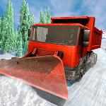 City Snow Blower Truck: Excavator Snow Plow Games icon