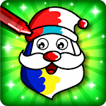 Christmas Coloring Book & Games for kids & family APK icon