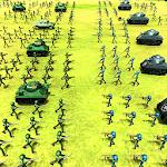Battle Simulator World War 2 - Stickman Warriors icon
