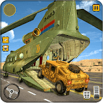 US Army Cargo Transport : Military Plane Games icon