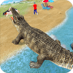 Crocodile Simulator : Animal attack Crocodile Game for pc icon