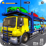Euro Truck Driver Car Transporter Truck Simulator icon