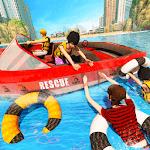 Beach Emergency Rescue Lifeguard icon