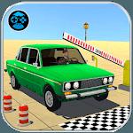 Prado Car Parking Game: Extreme Tracks Driving 3D icon