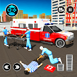 911 Ambulance City Rescue: Emergency Driving Game icon