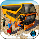 City Coach Bus Driving Simulator Games 2018 icon