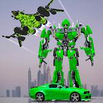 US Army Jet Robot Transforming Wars icon