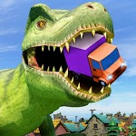 Deadly Dinosaur Battle Attack City icon