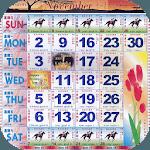 Singapore Calendar Horse 2019 icon